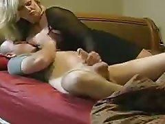 Blonde Handjob Hardcore Mature