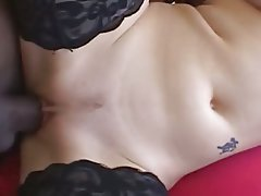 Hardcore Interracial Pornstar Threesome