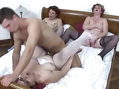 Group Sex Hardcore Lingerie Mature