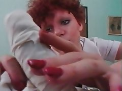 Blowjob Cumshot MILF Redhead