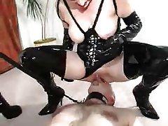 BDSM Face Sitting Femdom Mature