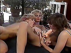 Anal Lesbian Threesome