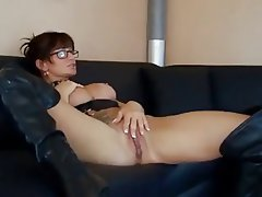 Anal Babe Big Boobs Brunette German