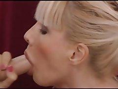Anal Blowjob Lingerie Blonde