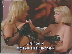 Anal Babe Blonde Threesome
