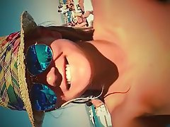 Amateur Beach Blonde Russian
