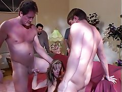 Anal Blowjob Facial Threesome