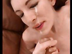 Cumshot Facial Pornstar POV