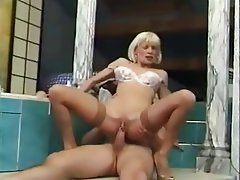 Anal Blonde French Hardcore