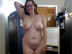 Amateur Big Boobs Blonde MILF Webcam
