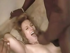 Amateur Creampie Interracial Redhead Threesome