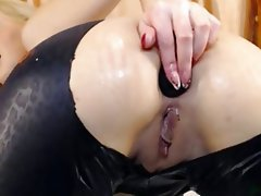 Anal Blonde Masturbation Webcam