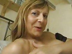 British Masturbation MILF Stockings