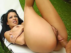 Anal Babe Brunette Cute