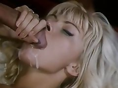 Blonde Facial Blowjob Vintage
