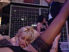 Anal Cumshot Group Sex Italian Pornstar