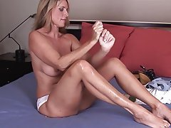Blonde Masturbation Mature