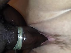 Amateur BBW Close Up Cumshot