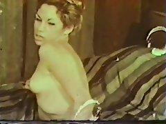 Hairy Lingerie MILF Nipples Vintage