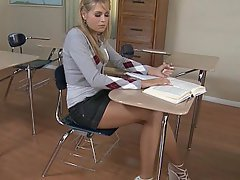 Student Blonde Cute Babe