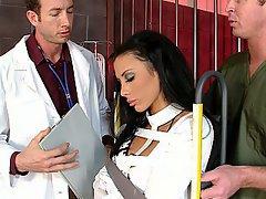 Doctor Blowjob Brunette