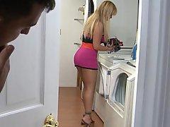 Blonde Big Tits Blowjob Big Ass