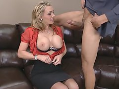 Office Mature MILF Big Tits
