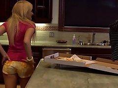 Blonde Cute Kitchen Teen