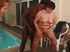 BBW Gangbang Interracial Mature Old and Young