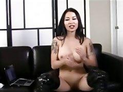 Asian Brunette Chinese Femdom