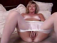 Blonde Masturbation Mature