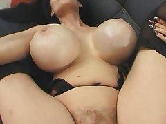 MILF Brunette Hairy Big Boobs