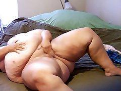 Amateur BBW Big Boobs Masturbation Mature