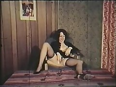 Hairy Lingerie MILF Stockings Vintage