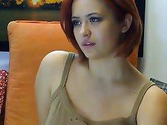 Big Boobs Brunette Masturbation Webcam
