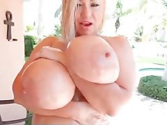 BBW Big Boobs Foot Fetish Lesbian