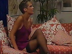 Babe German Hairy Stockings