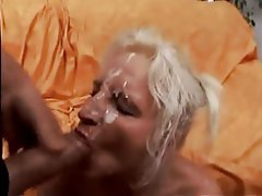 Anal Facial German Mature Threesome