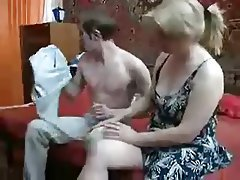 Blonde Blowjob Cumshot Mature