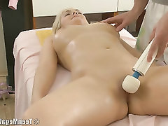 Babe BBW Massage Teen