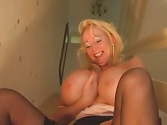 Big Boobs Granny Mature POV