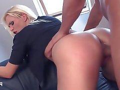 Blonde Cosplay Pornstar