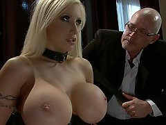 BDSM Big Tits Boobs Submissive