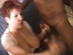 BBW French Group Sex MILF