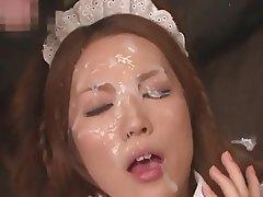 Bukkake Facial Japanese
