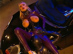 Anal Big Boobs Blonde Cumshot Latex