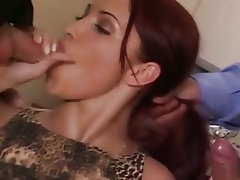 Anal Blowjob Double Penetration Old and Young
