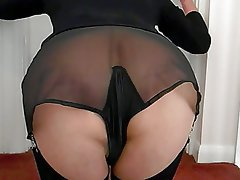 Amateur British Nylon Stockings