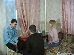Cumshot MILF Old and Young Russian