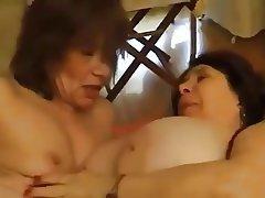 French Granny Lesbian Mature MILF